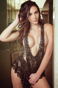 Krystal Lenkova in Playboy Mexico
